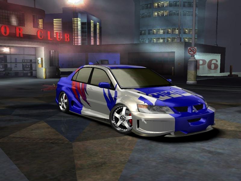 Mitsubishi Lancer Evo Ix Mr Need For Speed Carbon Rides