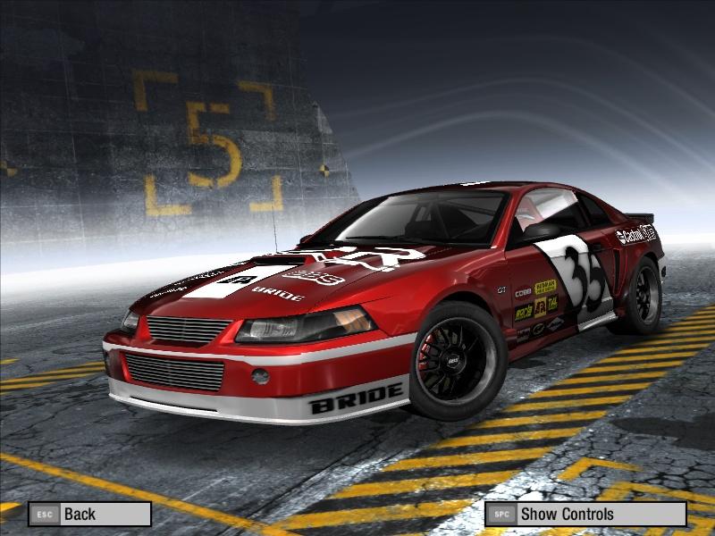 Mustang Gt Nascar