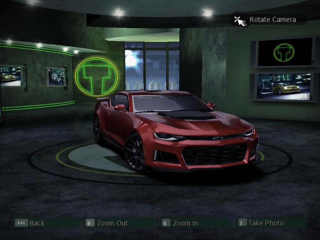 Need For Speed Carbon Chevrolet Camaro Zl1 Mk Vi V2 0