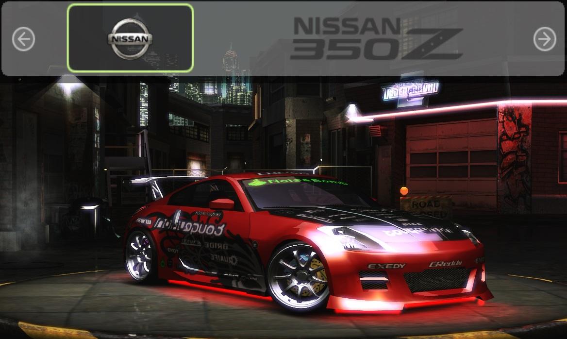 Need For Speed Underground 2 Nissan 350z Prostr Vinyl Nfscars