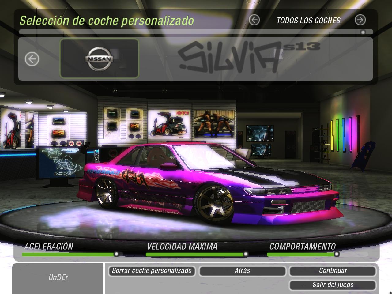 Need For Speed Underground 2 Nissan Silvia S13