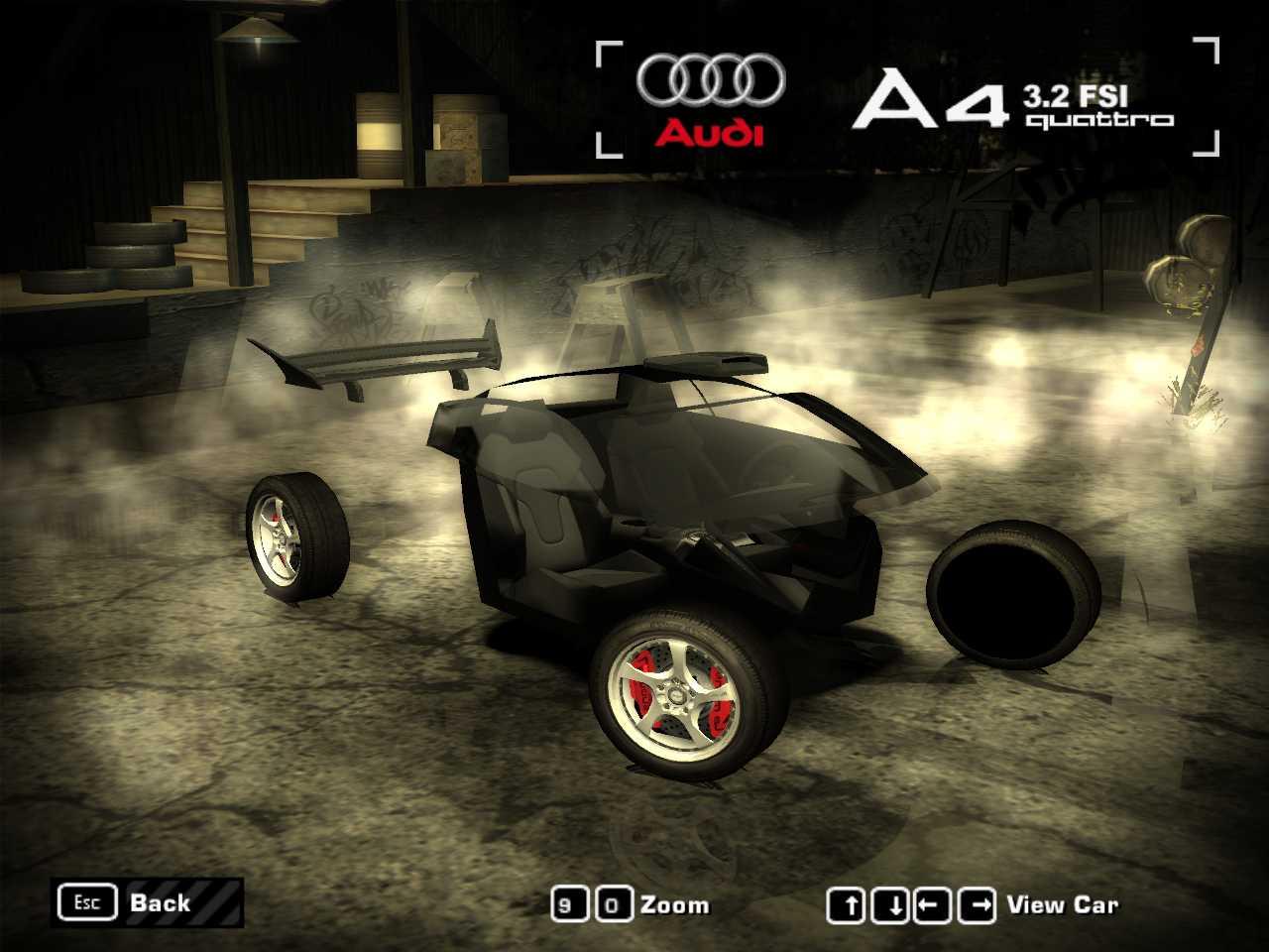 Need For Speed Carbon Avoir Audi Le Mans Quattro 29