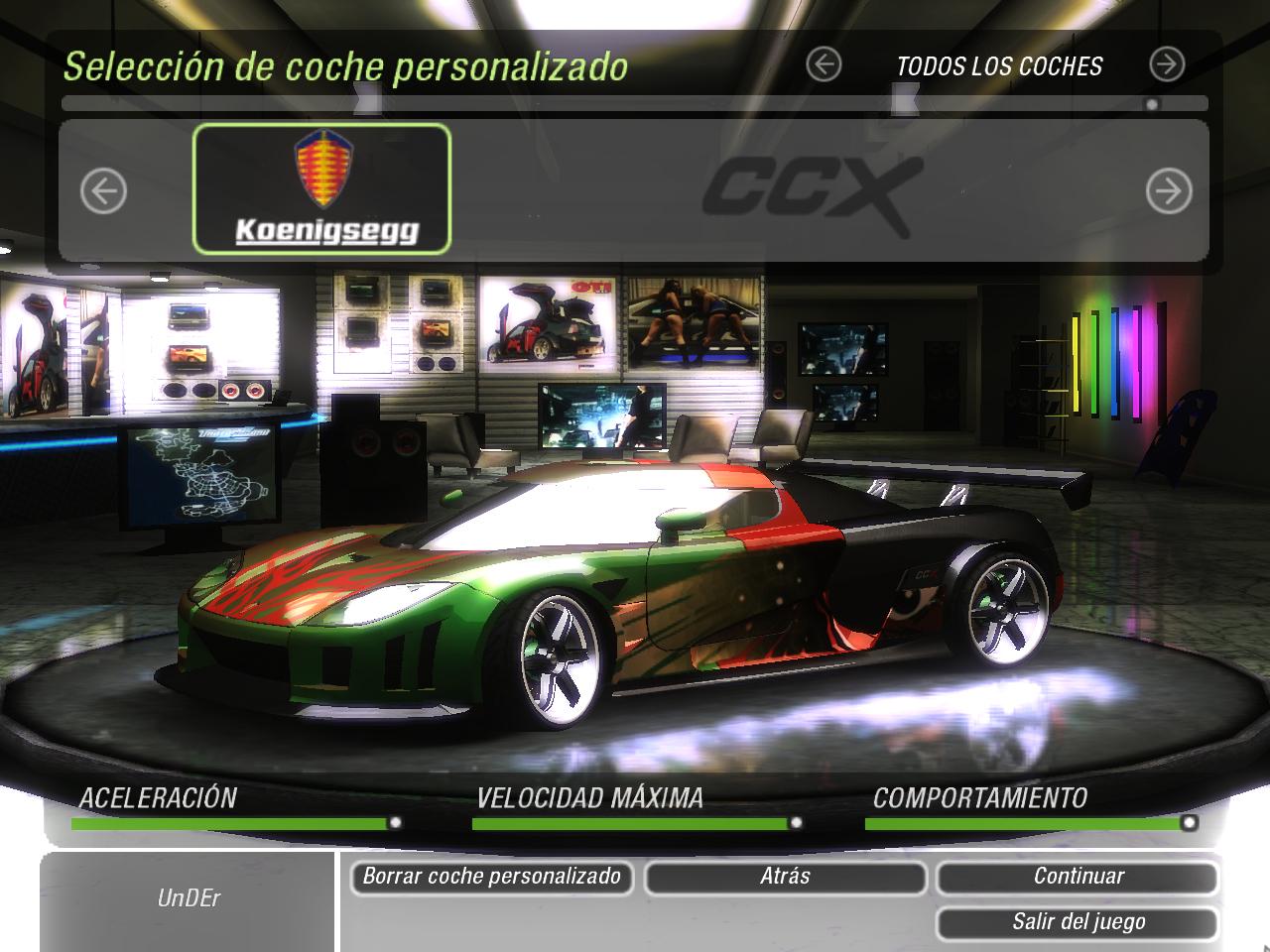 Need For Speed Underground 2 Koenigsegg Ccx Nfscars