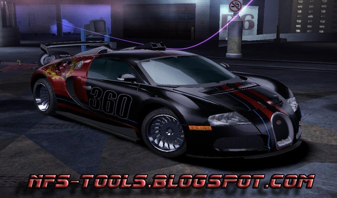 need for speed carbon bugatti veyron v1 2 nfscars. Black Bedroom Furniture Sets. Home Design Ideas