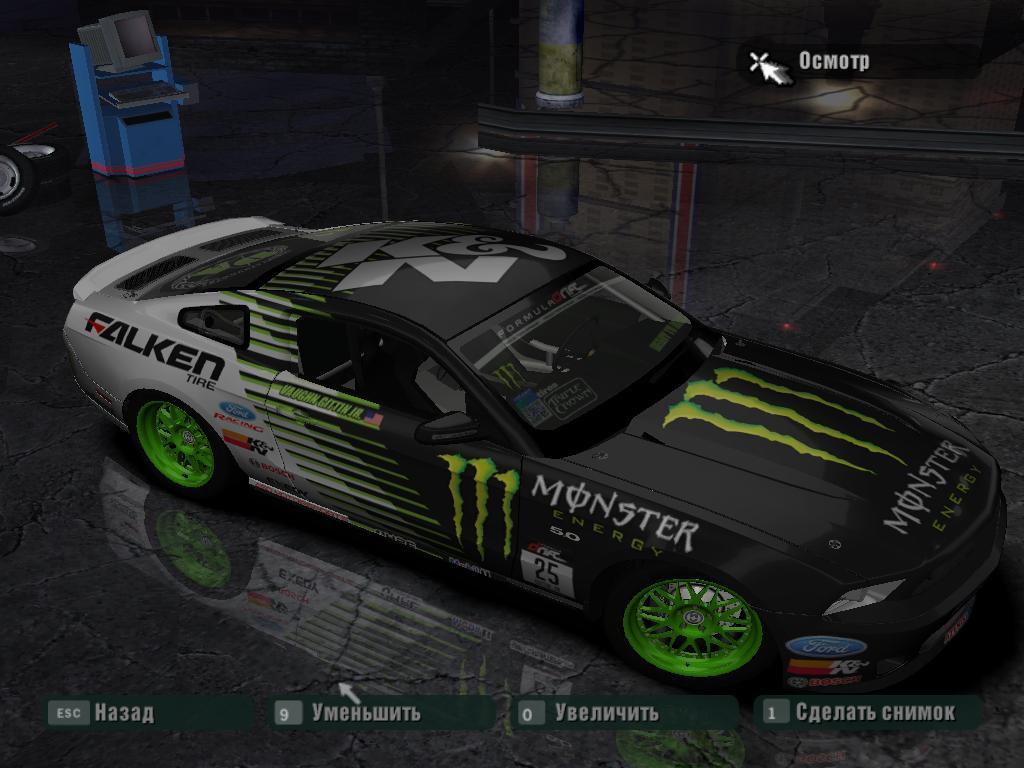 speed carbon ford monster energy falken tire mustang gt nfscars