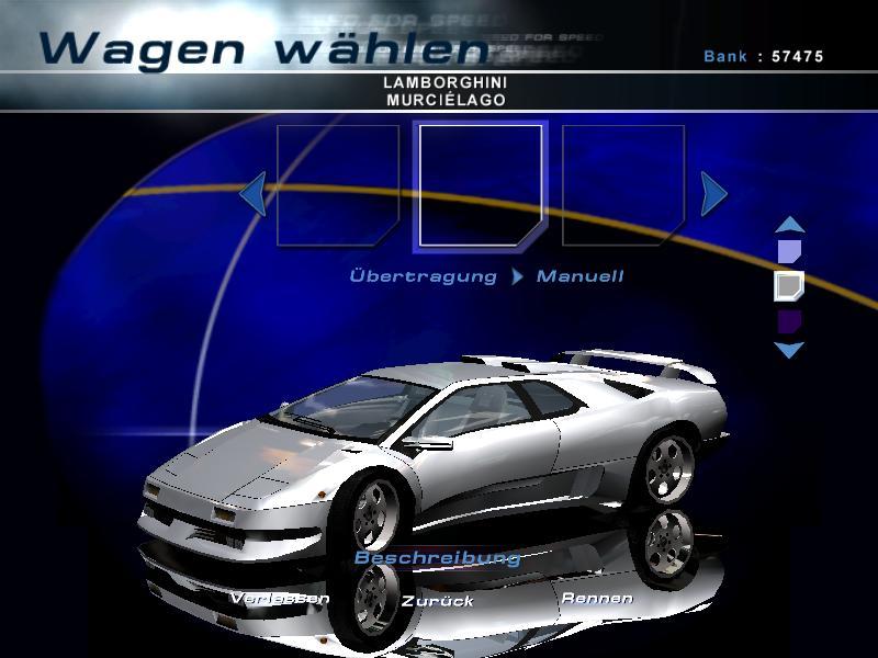 Need For Speed Hot Pursuit 2 Lamborghini Diablo SE30 Jota 1996