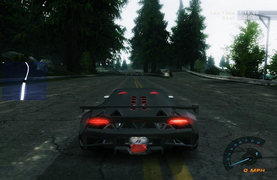 Need For Speed Hot Pursuit 2 Lamborghini Sesto Elemento Modified