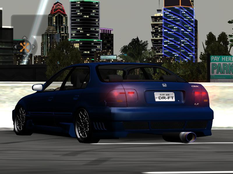 honda underground speed need civic cars nfscars lx 1998