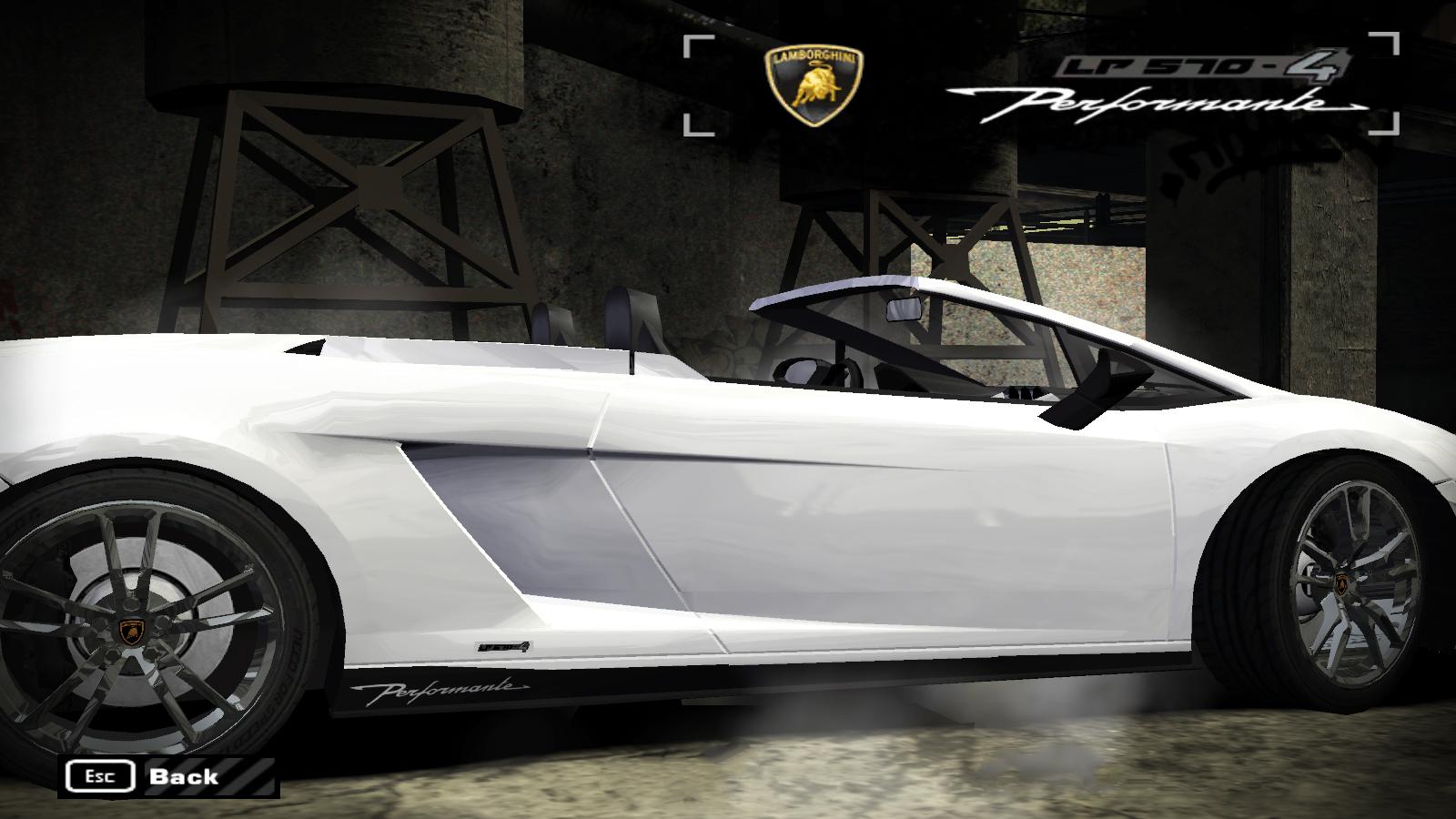 Need For Speed Most Wanted Lamborghini Gallardo LP570-4