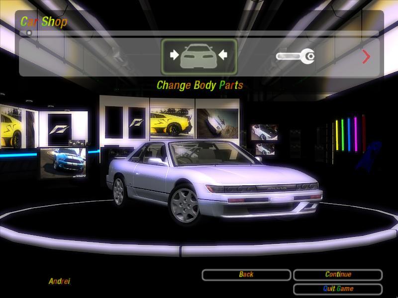 Need For Speed Underground 2 Nissan Silvia CLUB K's 1992