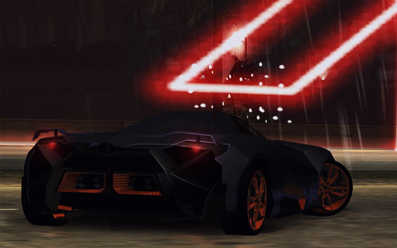 Need For Speed Underground 2 Lamborghini Egoista Concept