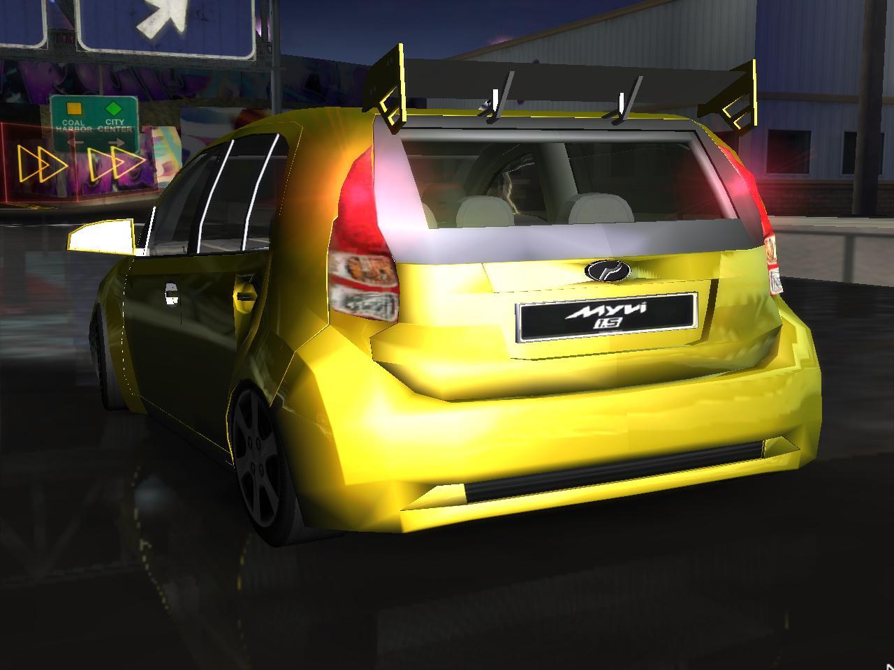 Need For Speed Underground 2 Fantasy Perodua Myvi 2011 ...