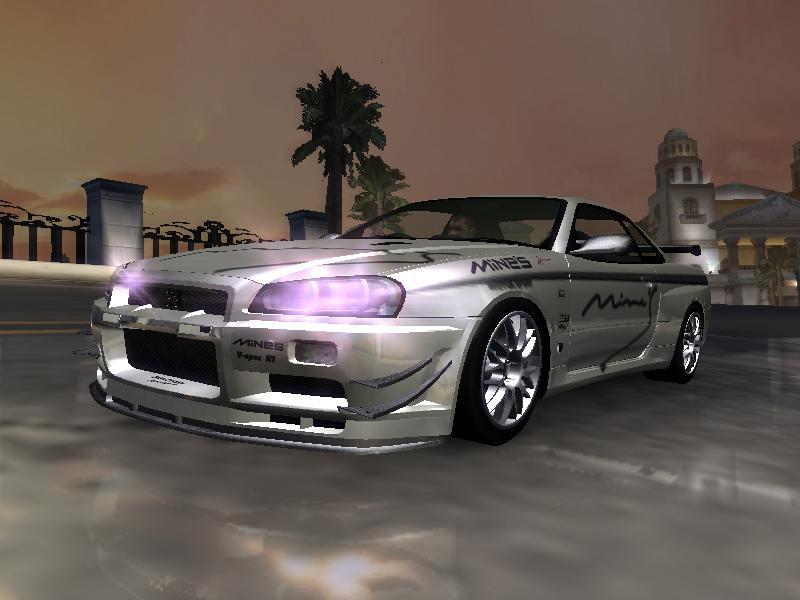 Need For Speed Underground 2 Nissan Mine S Skyline Gt R