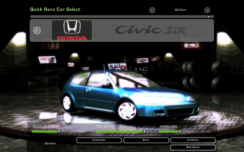 underground speed need honda nissan skyline cars r32 civic gt sir nfscars downloads votes description information