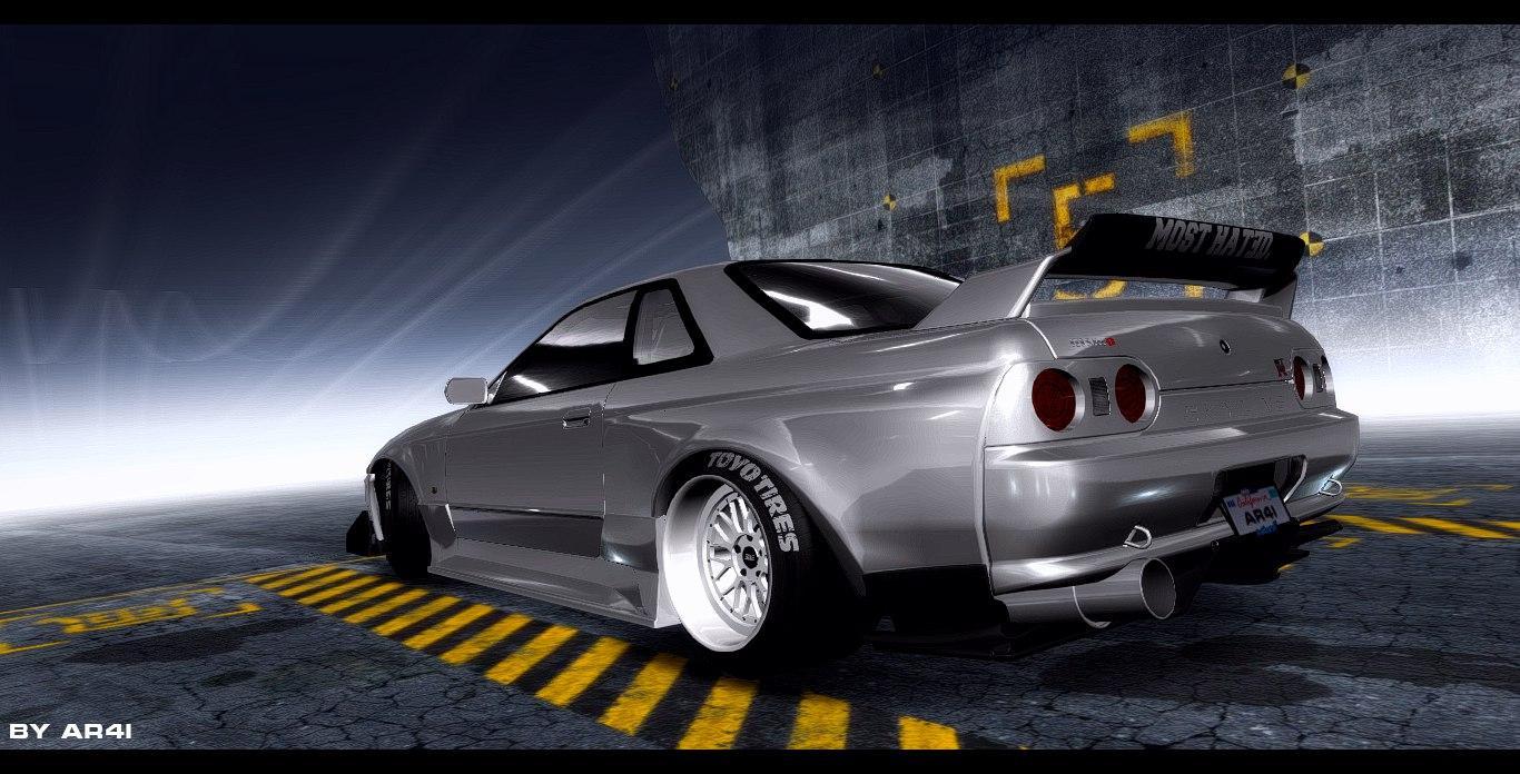 Need For Speed Pro Street Nissan Skyline R32 Gtr Nfscars