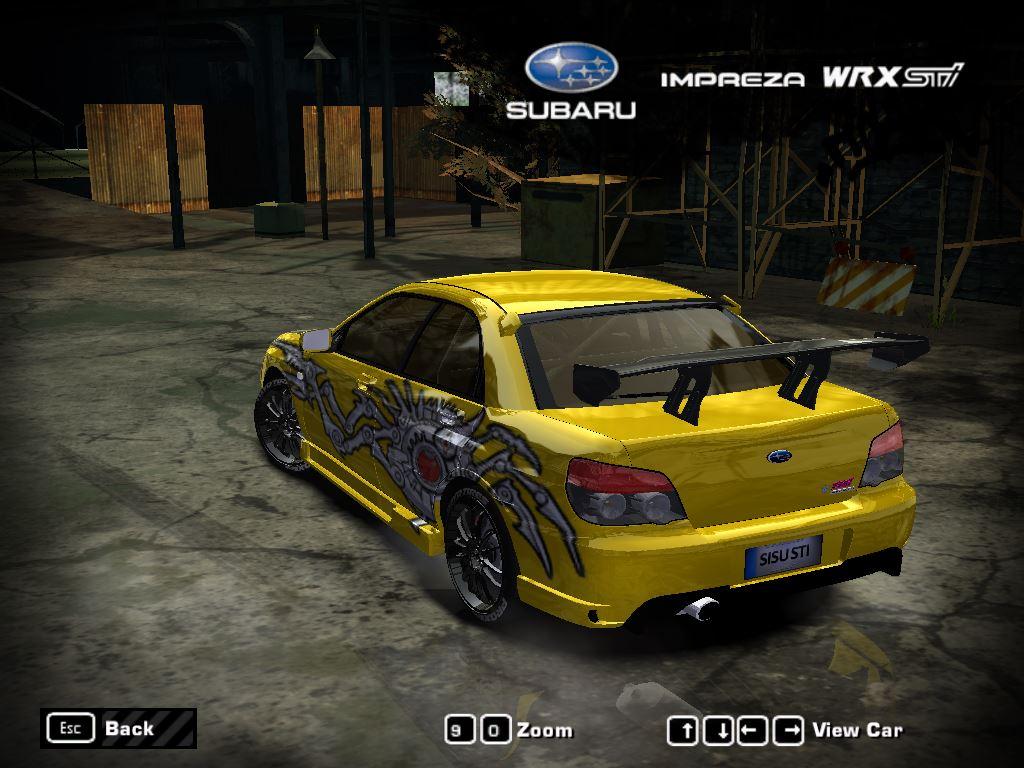2017 Subaru Wrx >> Need For Speed Most Wanted Subaru Impreza WRX STi (2006) | NFSCars