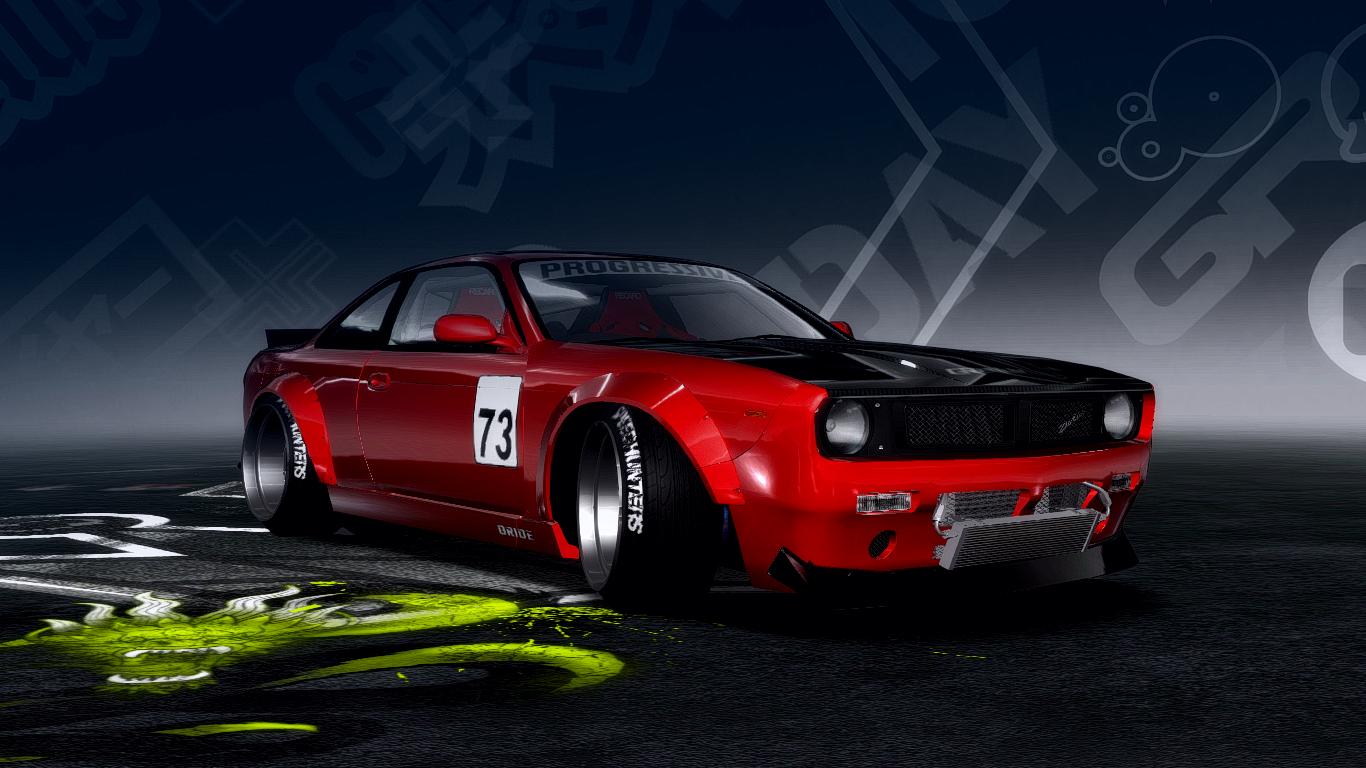 Need For Speed Pro Street Nissan Silvia S14 ROCKET BOSS