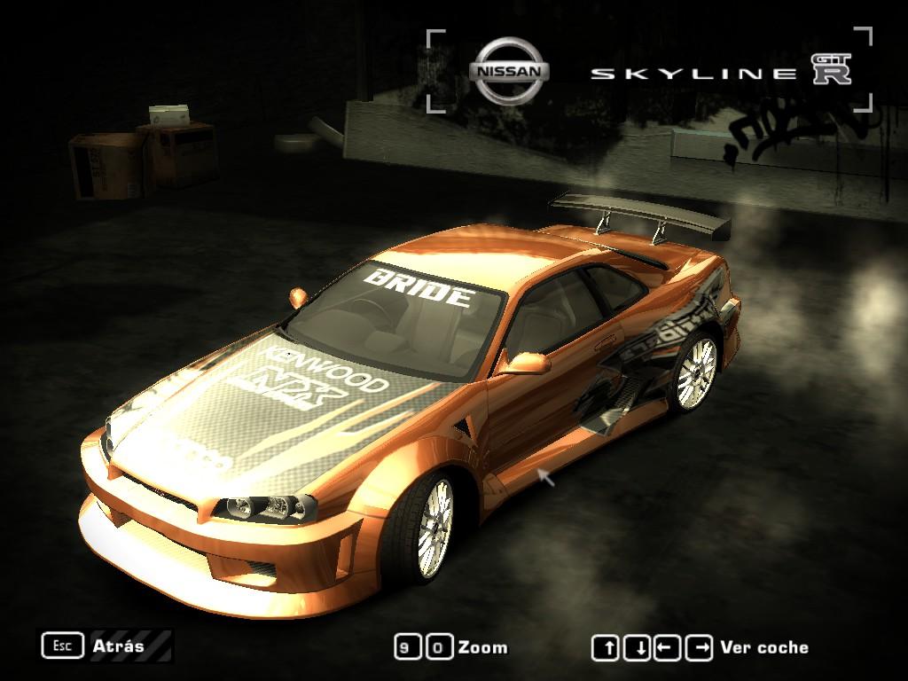 Nissan Skyline Gtr 2017 >> Need For Speed Most Wanted 1999 Nissan Skyline GTR 34 | NFSCars