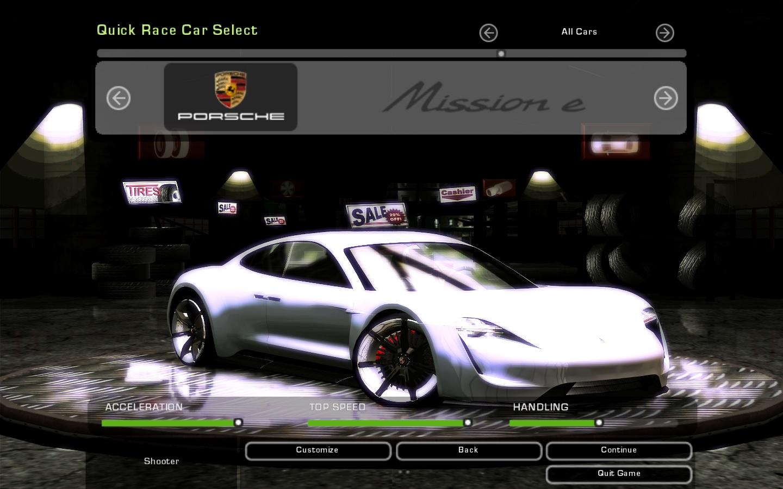 Need For Speed Underground 2 Porsche Mission E Nfscars