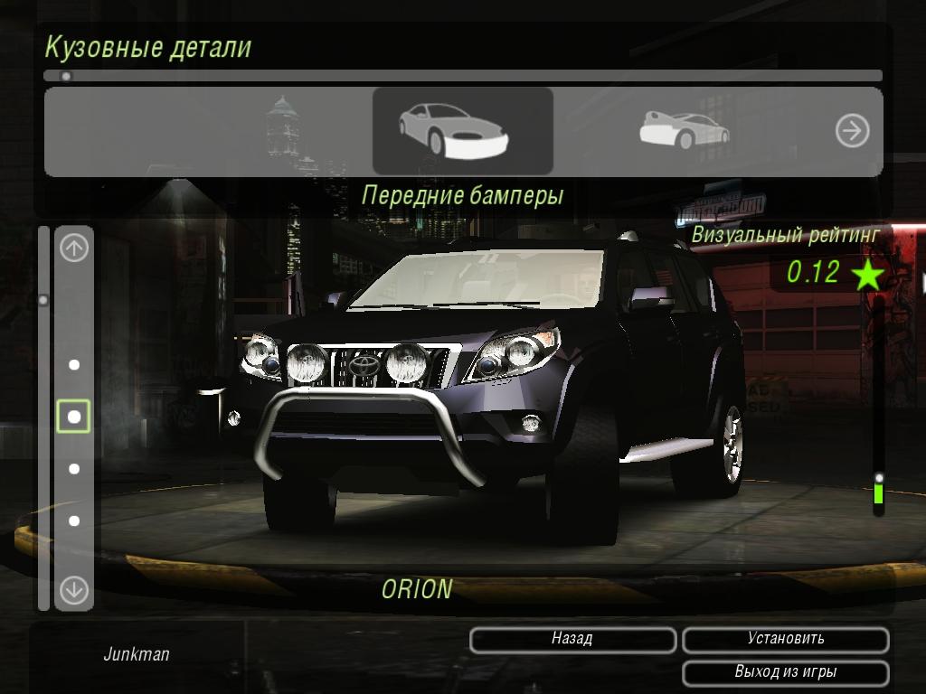 Need For Speed Underground 2 Toyota Land Cruiser Prado ...