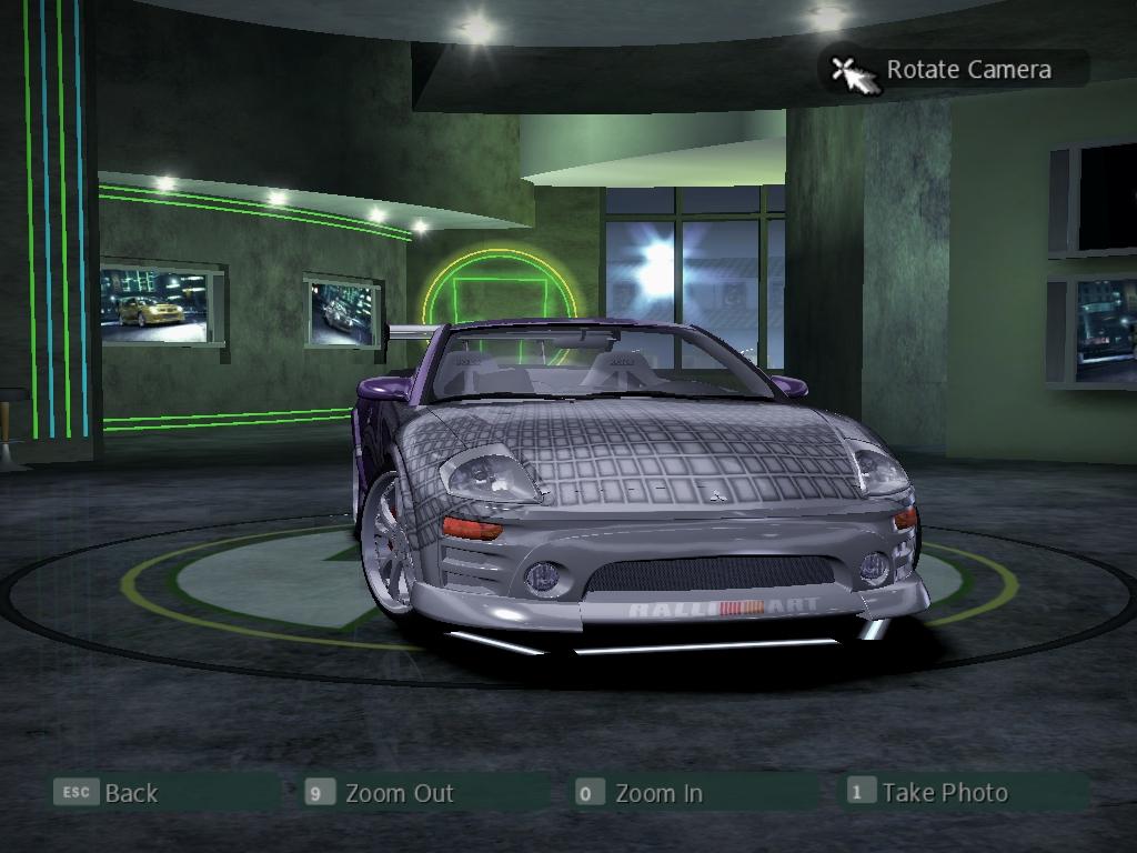 Nfsc on Mitsubishi Eclipse