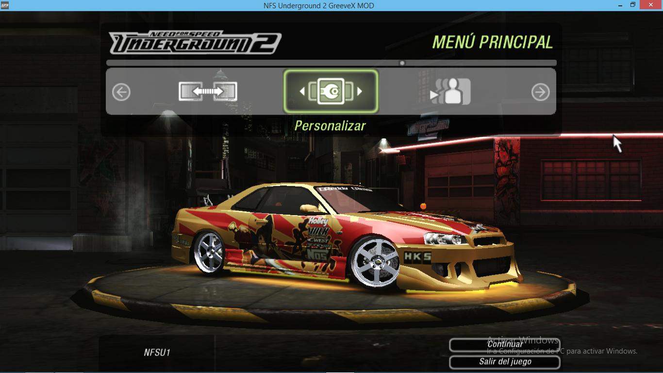 Need For Speed Underground 2 Nissan SRS Vinyl For Skyline ...