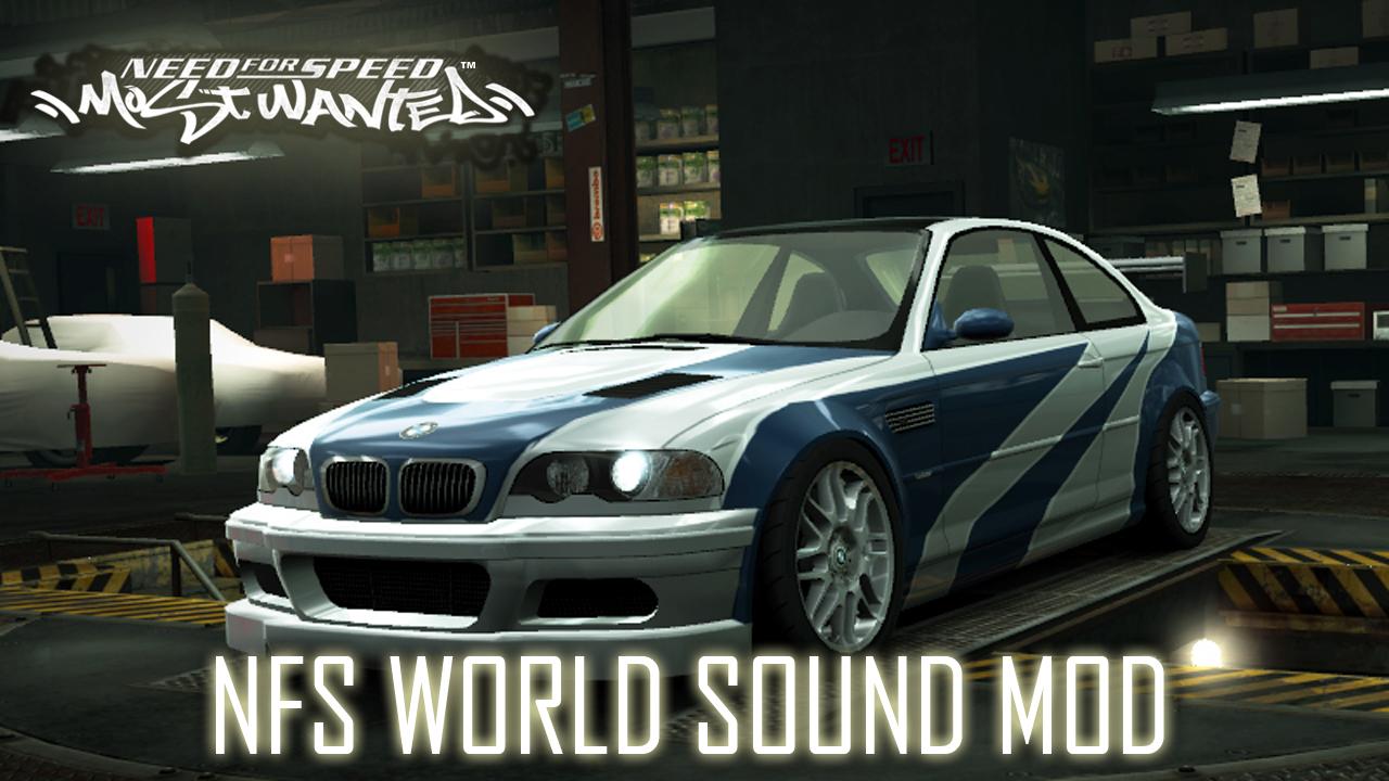 "Bmw E46 M3 >> Need For Speed World ""NFS MW M3 GTR"" -Sound mod | NFSCars"