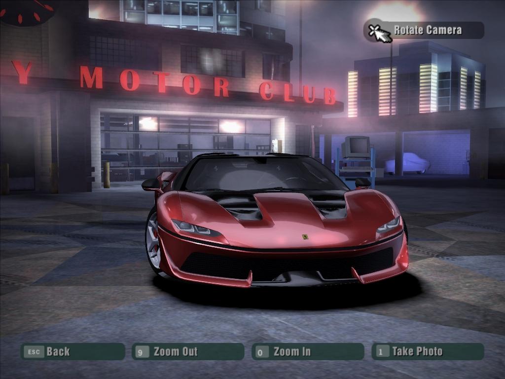 Need For Speed Carbon Ferrari J50