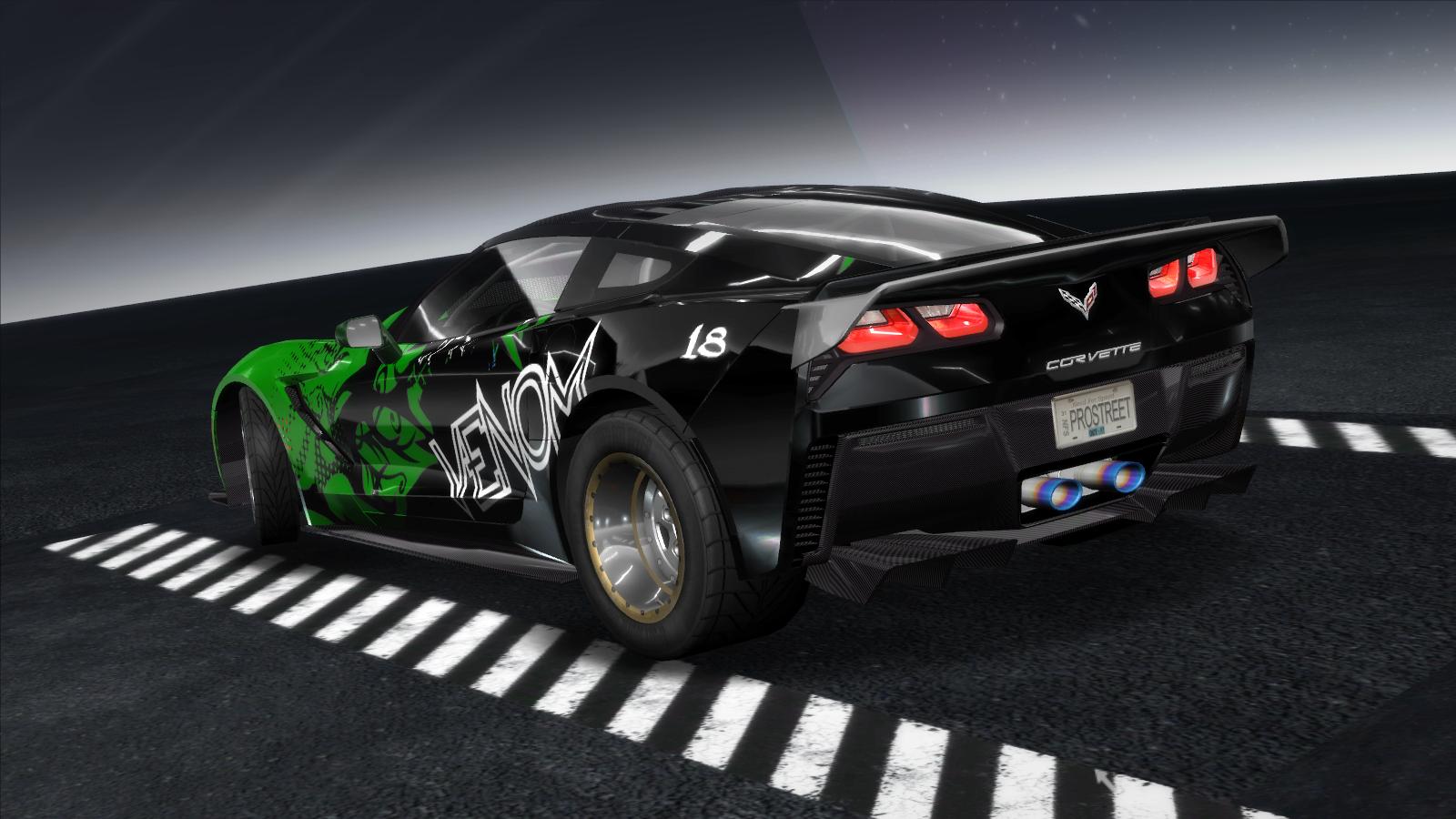Need For Speed Pro Street Chevrolet Corvette C7 Nfscars