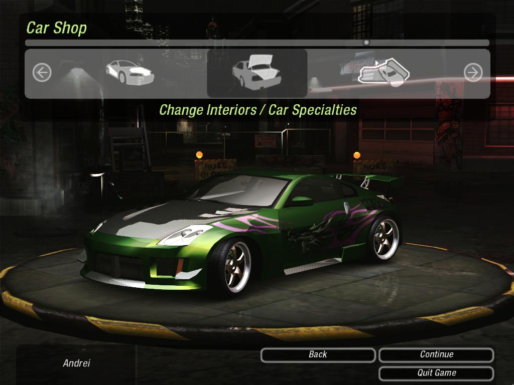 Rachel's 350Z by TUN3R   Need For Speed Underground 2