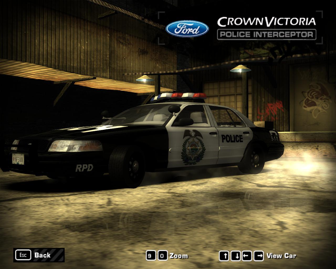 2006-2008 Rockport Police Department Ford Crown Victoria Police Interceptor (COPMIDSIZEINT ...