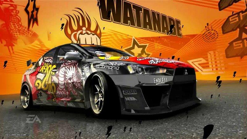 2016 Lancer Evolution >> Ryo Watanabe Cars by mecalren1 | Need For Speed Pro Street ...