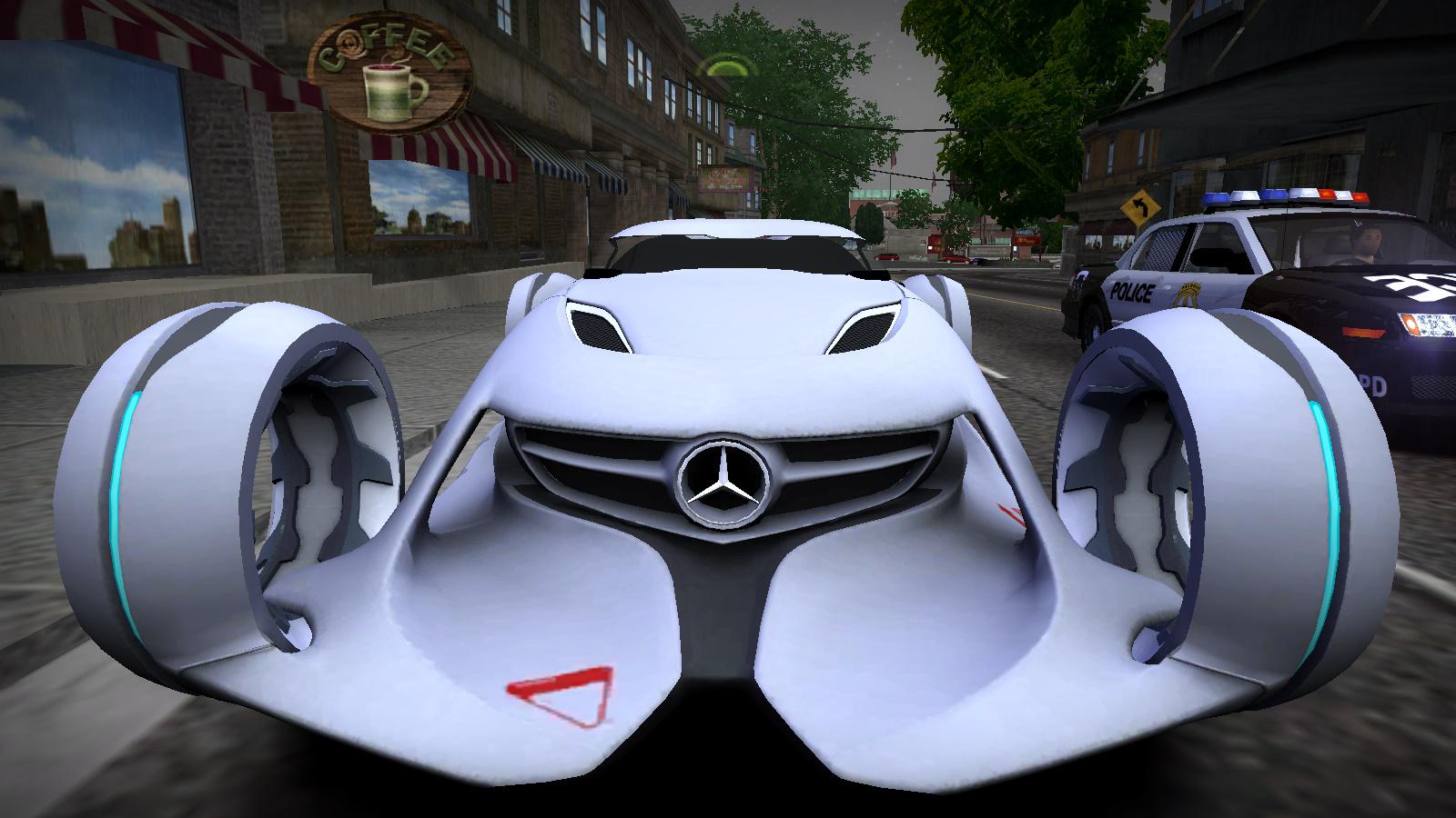The mercedes benz silver arrow or silver lightning by for Mercedes benz silver lightning
