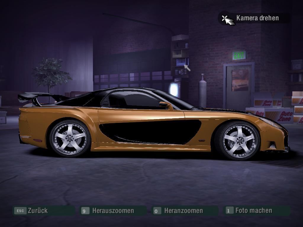 Mazda Rx7 Fast And The Furious Tokio Drift By Dk Yakuza