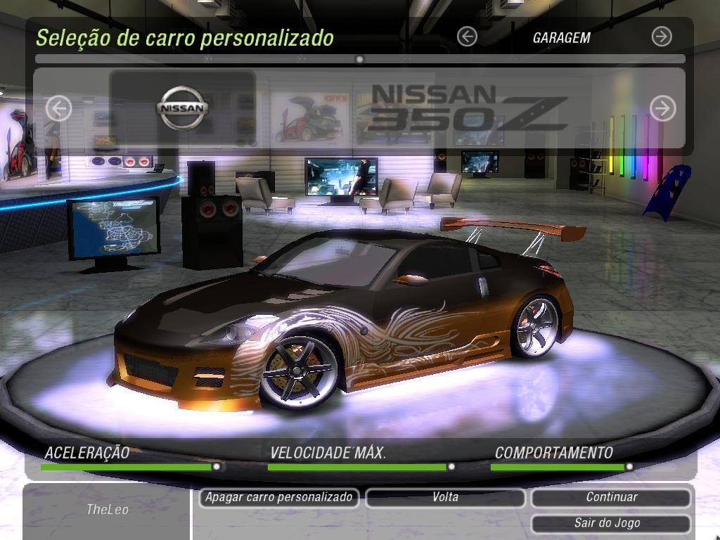 350Z by Leonardo C.R | Need For Speed Underground 2 | NFSCars